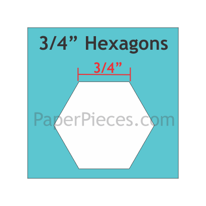 Hexagon 3/4 HEX075