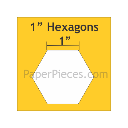 "Hexagon 1"" HEX100"