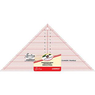 """Patchwork Ruler 90 degrees 7 1/2 x 15"""" 