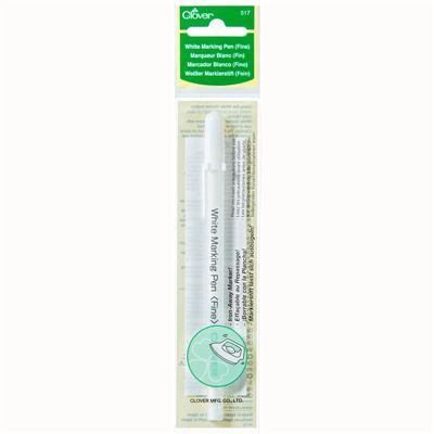 White marking pen fine Clover