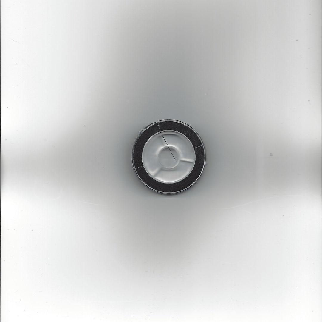 Kralendraad Silky zwart