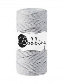 Bobbiny Macramé draad Light Grey