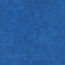 Licht kobalt blauwe stof met honingraat motief-Makower