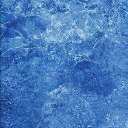 Blauwe quiltstof gemarmerd-Northcott