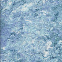 Blauw paarse quiltstof gemarmerd