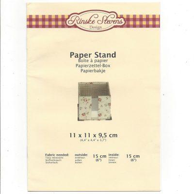 Kartonnage pakket Papierbakje-Rinske Stevens