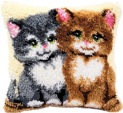 Knoopkussen kittens