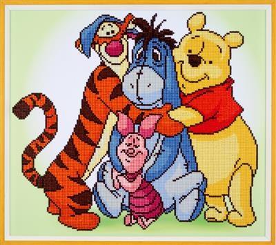 Diamond Painting Disney Winnie the Pooh en zijn vrienden