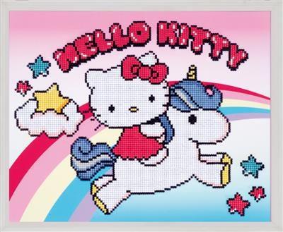 Diamond Painting Hello Kitty with unicorn