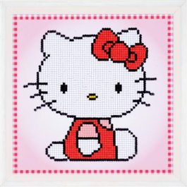 Diamond Painting Hello Kitty