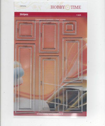 Transparante Quiltstempel CRP0356 Stripes NIEUW