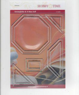Transparante Quiltstempel CRP0358 Snowglobe & X-mas ball NIEUW