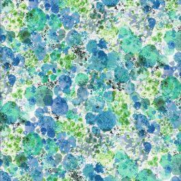 Quiltstof met bloempatroon -Stof fabrics