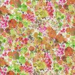 Quiltstof met bloemenpatroon -Stof fabrics