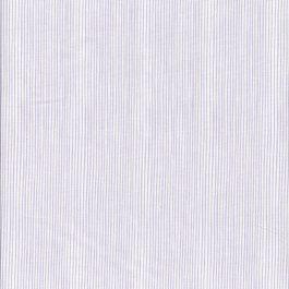 Witte stof met lila streepje
