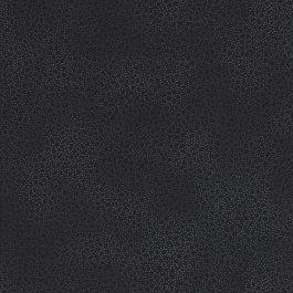 Zwarte stof met mini blaadjes-Stof