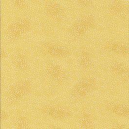 Ei-gele gemarmerde stof met donker motief-Stof Frabrics
