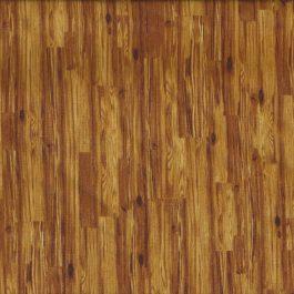 Donker okergele houten planken stof-Michael Miller