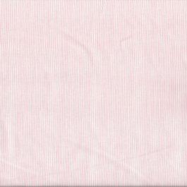 Witte stof met licht roze streepjes-Stof