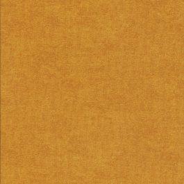 Midden oker kleurige stof met linnen structuur-Stof Fabrics