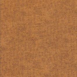 Donker oker stof met linnen structuur-Stof Fabrics