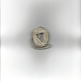 Micro-Suede Band 3mm br. 2.5m lang beige